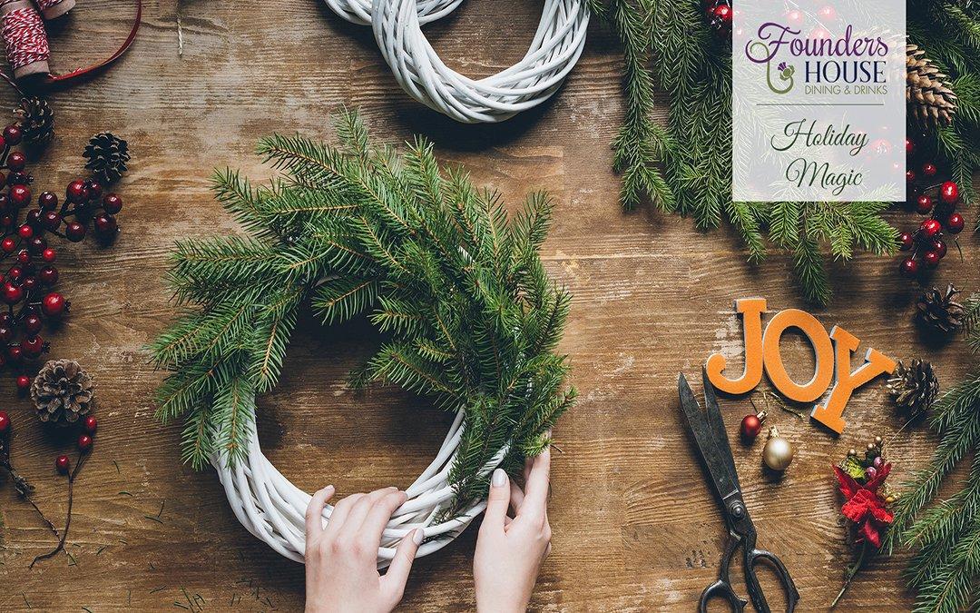 Dec 5 – Wreath Making Workshop