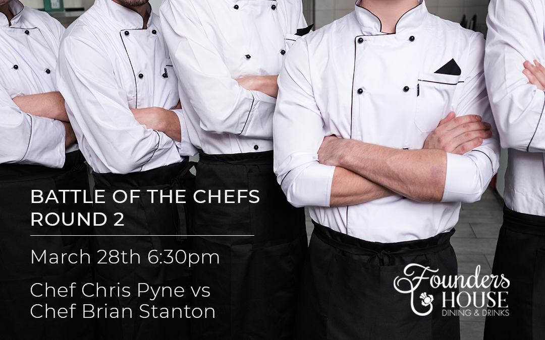March 28 – Battle of the Chefs