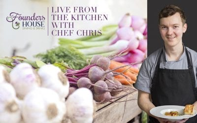 May 6 – Live from the Kitchen with Chef Chris